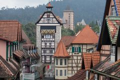 Colmar Tropicale French Theme Resort Royalty Free Stock Image