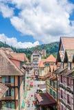 Colmar Tropicale, località di soggiorno di Bukit Tinggi Fotografia Stock