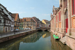 Colmar village at Easter Stock Image
