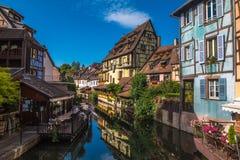 Colmar w Alsace w Francja Zdjęcie Stock
