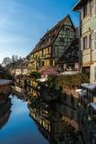 Colmar - wenig Venedig - Romantik-Hotel Lizenzfreies Stockbild
