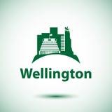 Colmeia - o símbolo de Wellington, Zeland novo ilustração royalty free