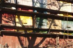 Colmena de la vendimia Foto de archivo