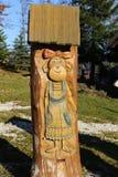 Colmena de madera Imagenes de archivo
