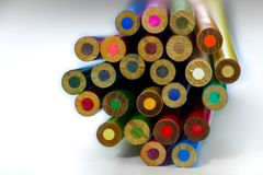 Colmena del color Fotos de archivo libres de regalías