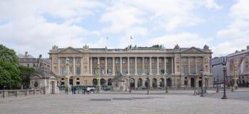 Coloc de la concorde Estátuas das cidades de Bresta e de Bordea Imagem de Stock Royalty Free