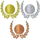 Medalhas Fotos de Stock