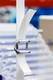 Colocação de correias de nylon fotos de stock