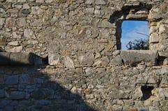 A colocação do canhão no forte faz o Rato Fotografia de Stock Royalty Free