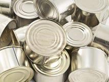 Colocação em latas Imagens de Stock