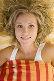 Colocação na cama Foto de Stock Royalty Free