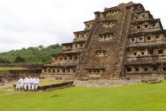 Coloca la pirámide Tajin VI Imágenes de archivo libres de regalías