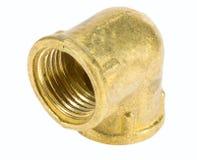 Colocación de cobre amarillo para sondear Fotografía de archivo