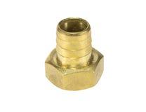 Colocación de cobre amarillo para sondear Imagen de archivo libre de regalías