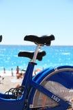 Colocación de la bici Fotos de archivo libres de regalías
