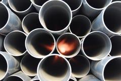 Colocación del tubo Imagen de archivo libre de regalías