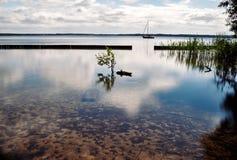 Colocación en agua Imagen de archivo libre de regalías
