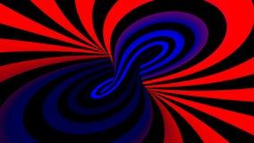 Colocación inconsútil de la ilusión espiral hipnótica ilustración del vector
