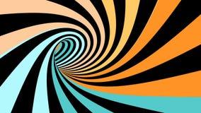 Colocación inconsútil de la ilusión espiral hipnótica libre illustration