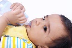 Colocación india del bebé Foto de archivo libre de regalías