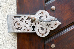 Colocaciones antiguas de la puerta Fotos de archivo