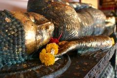 Colocando buddha Imagem de Stock