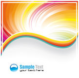 Colofrul Background for Business Brochure Royalty Free Stock Images