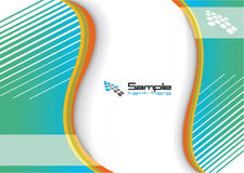 Colofrul Hintergrund für Geschäfts-Broschüre Lizenzfreie Stockfotografie