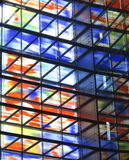 coloful окна Стоковое Изображение