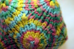 Coloful связало дизайнерскую математику ткани игрушки Стоковое фото RF