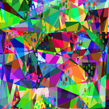 Coloful abstract geometric texture for design,  Royalty Free Stock Photo