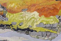 Coloful abstrakcjonistyczni obrazy laka obraz, adobe rgb obrazy royalty free