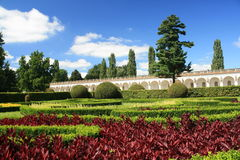 coloful blommapark Royaltyfria Foton