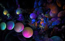Coloful bubbles Royalty Free Stock Photography