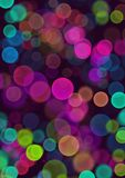 Coloful bubbles background Stock Images