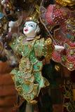 Coloful Burmese puppets Stock Photos