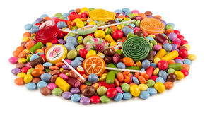 Coloful candy Stock Image