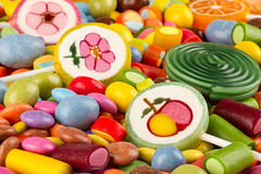 Coloful candy Stock Photography
