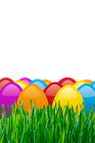 Coloful easter eggs Royalty Free Stock Photography