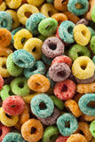 Coloful Fruit Cereal Loops Stock Photos