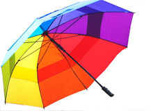 Coloful Open Umbrella Royalty Free Stock Photography