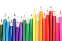 Coloful pencils Royalty Free Stock Photo