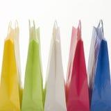 Coloful Shopping Bags Royalty Free Stock Photos