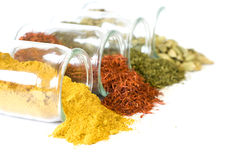 Coloful spices Stock Photos