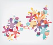 Coloful Splash stock illustration