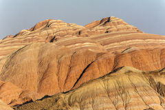 Coloful stripes mountains Royalty Free Stock Photography