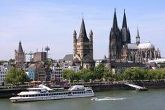 cologne Германия Стоковое Изображение RF