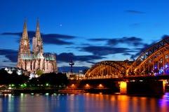 cologne Германия Стоковые Изображения RF
