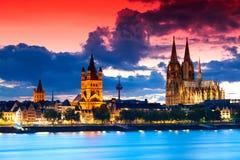 cologne Германия Стоковая Фотография