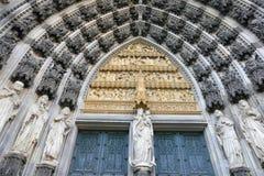 cologne собора готский Стоковое фото RF